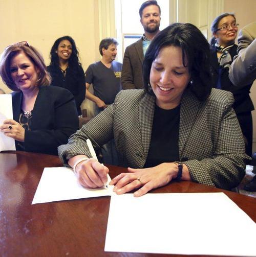 Voting Agreement Signed Minus Clerk Local News Salemnews