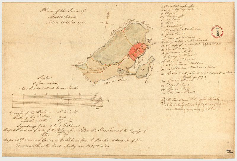 Putting Marblehead on the map: Immersive exhibit explores town's first two centuries