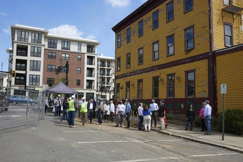 Groundbreaking marks beginning of 'The Block at Odell Park'