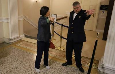 Protest worries prompt closure of Senate viewing gallery
