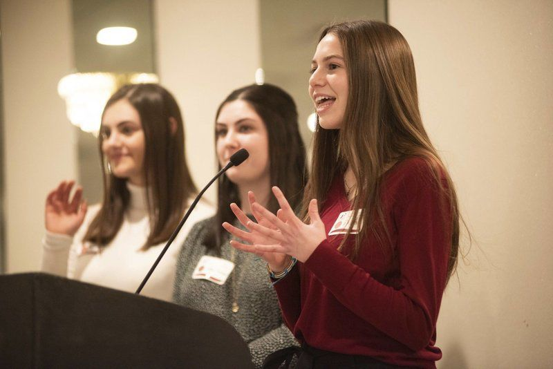 Rotary, Chamber bring students and business leaders together