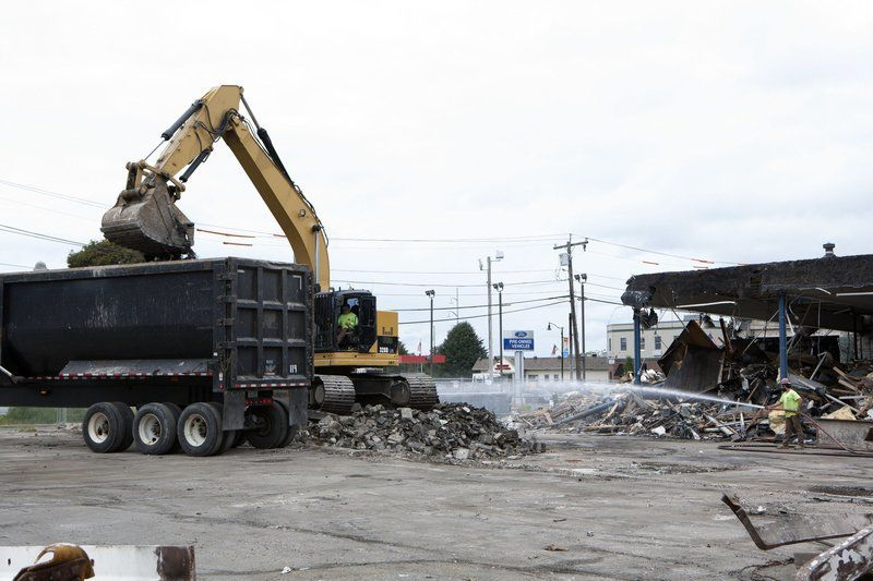 Dealership coming down to make way for apartments