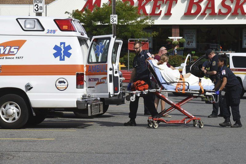 Rowley plaza evacuated, 8 people taken to hospitals as a precaution