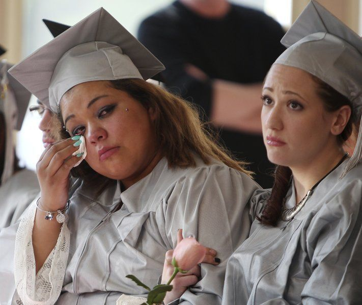 Northshore Recovery High School graduation
