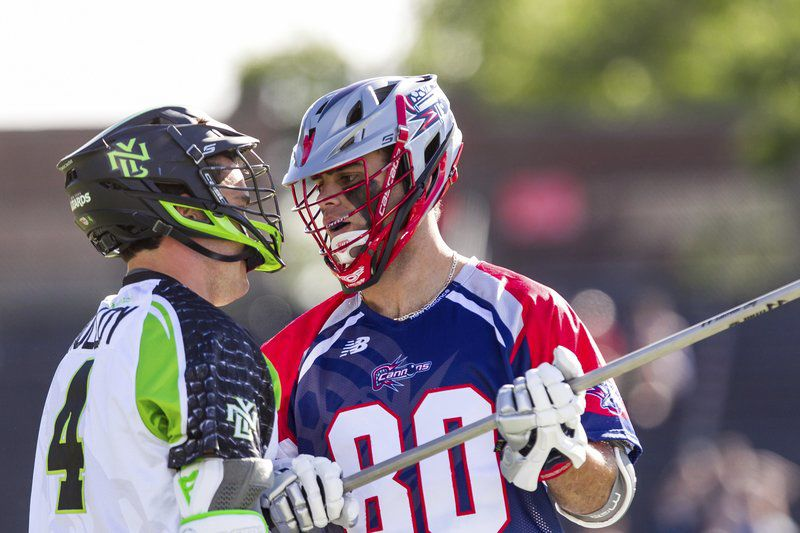 A STARRING ROLE: Fahey enjoying career year for Cannons, up for Major League Lacrosse all-star nod
