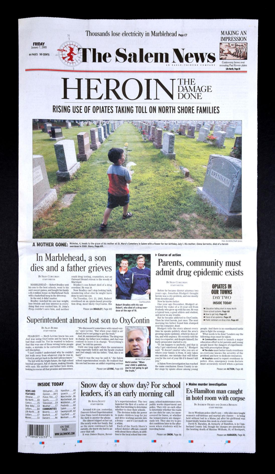 Salem News, ten years ago