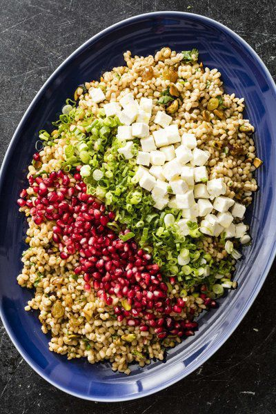 Go bold with barley: Nutty grains make the perfect base for these two dishes