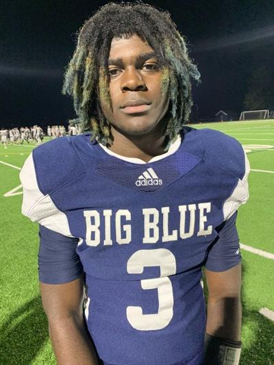 Big Blue football blows out Weston, moves on to North semifinals