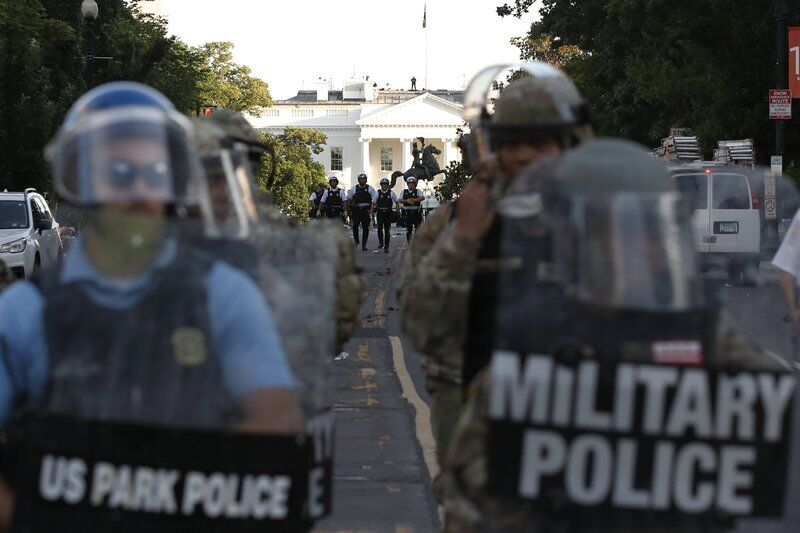Longtime observers see violent change in Park Police tactics