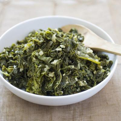 Make tender kale that is anything but swampy