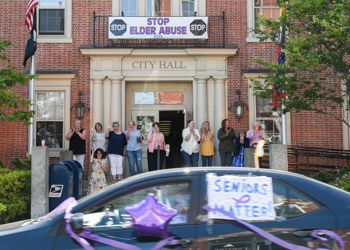 Elder Abuse rolling rally in Beverly