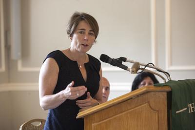 Maura Healey speaks at North Shore Chamber breakfast