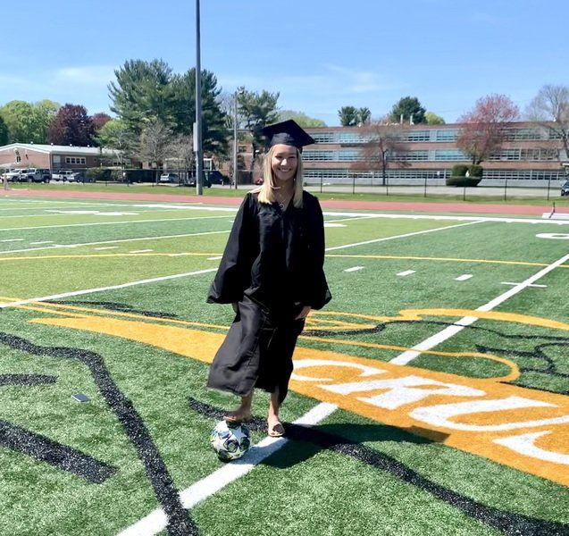 Seniors Say with ... Bishop Fenwick track's Katelyn Clark