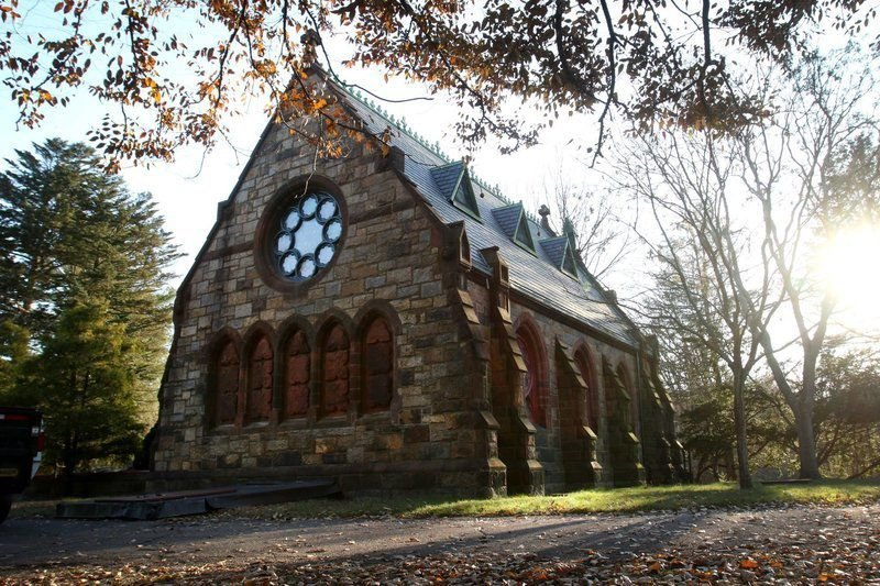 City celebrates first phase of restoration at historic chapel