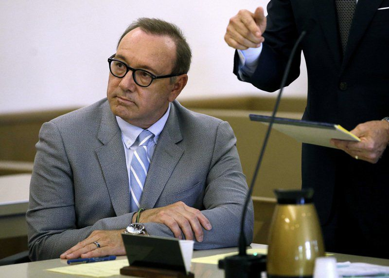 Phone of Spacey accuser sought by defense missing