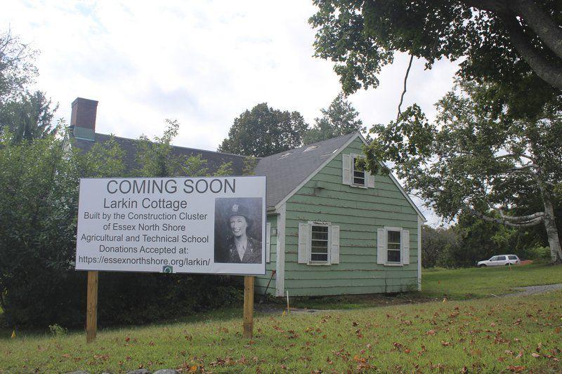 Rebuilding the cottage