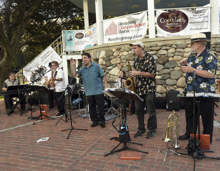 Local tone for Andover's performances in The Park
