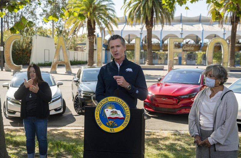 California ready to pull the plug on gas vehicles