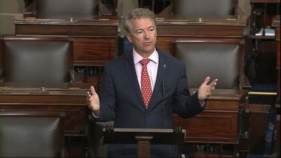 US senator reporting he's tested positive for virus