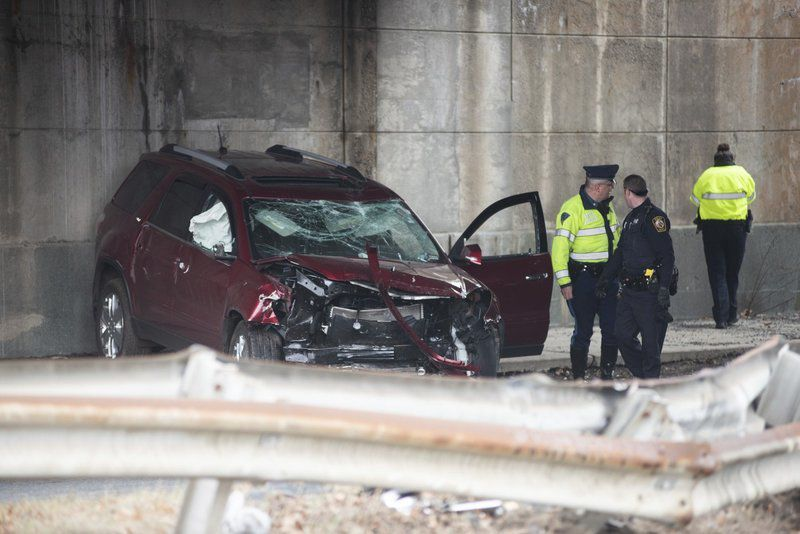 UPDATE: Driver suffers life-threatening injuries when SUV goes off Route 1