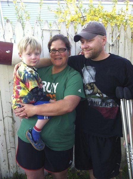 Empowered: Marathon bombing victim Steve Woolfenden testifies at trial