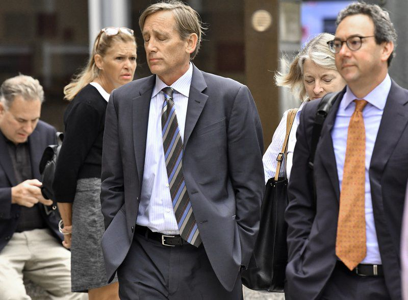 Parent charged in college bribery scheme pleads guilty