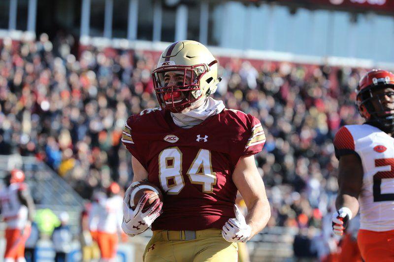 Ex-St. John's Prep star Burt ready for big season with Boston College football