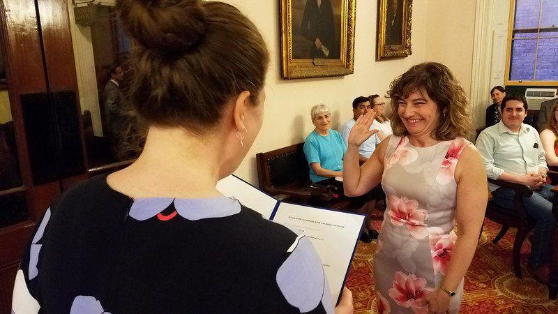 New Salem city clerk looks to future