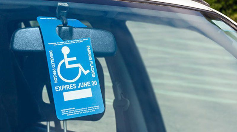 Handicapped parking fraud will bring steep fines state for New york state department of motor vehicles handicap parking permit