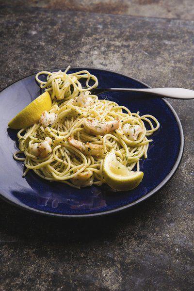 Shrimp pasta offers a taste of Venice