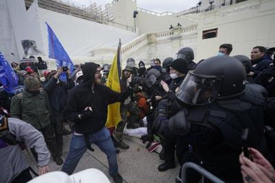 Lawmakers given gas masks as protesters breach US Capitol