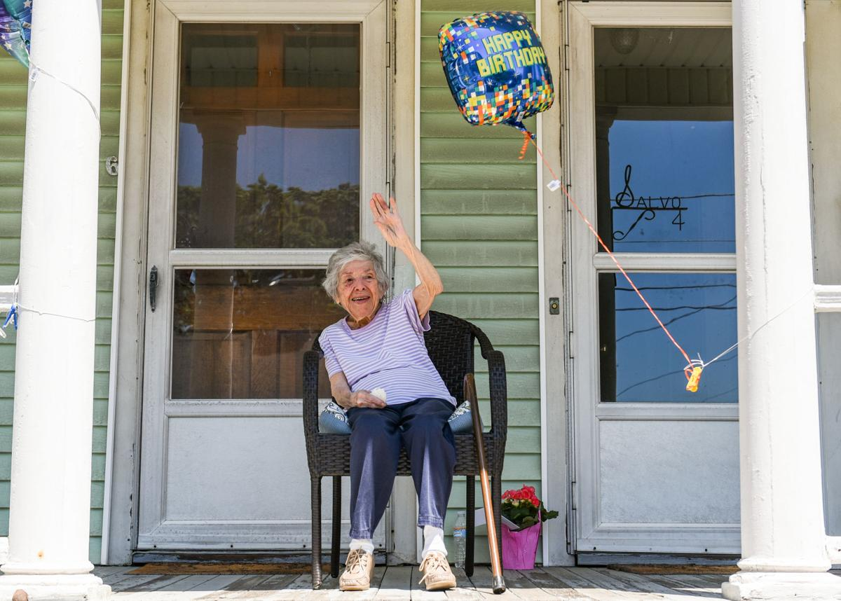 Salem's Margaret Salvo turns 100