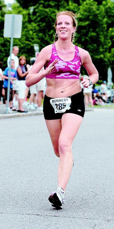 b0ccd1746b9 Annie Rose Willis of Danvers runs her first Boston marathon today.