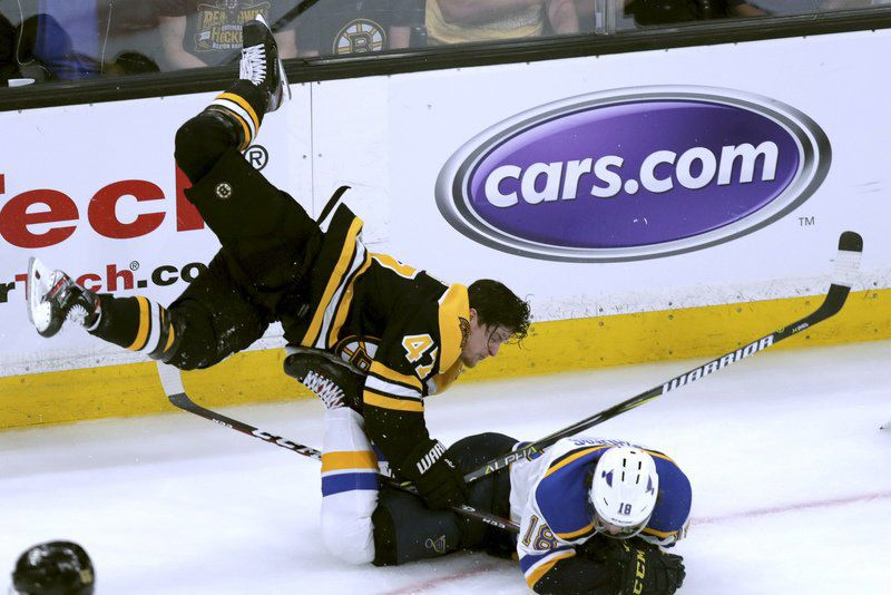 On Hockey: Krug, for more than just his iconic hit, should be a Bruin for life