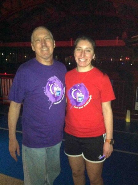 Beverly's Berking running from Golden Gate to Brooklyn Bridge for cancer