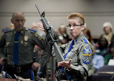 Court:Gun maker can be suedfor Newtownshooting