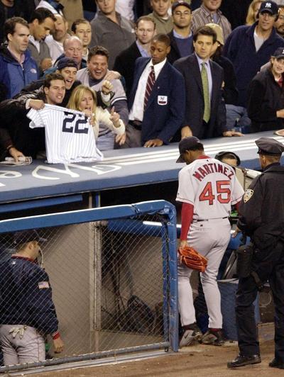 Pedro at Yankee Stadium