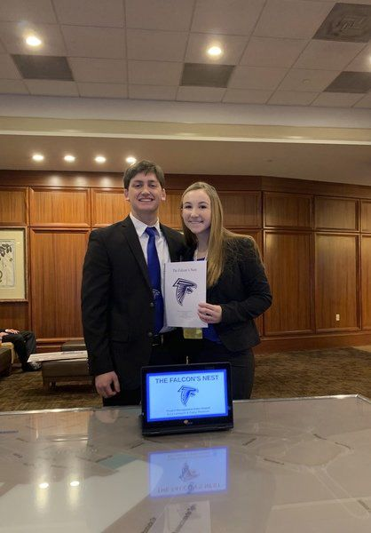DHS seniors miss chance at winning DECA glass