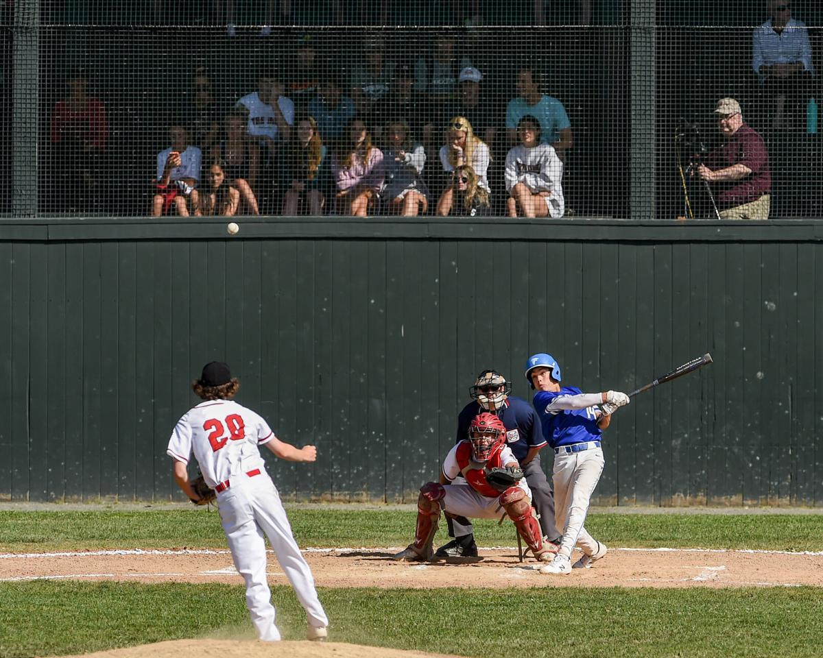 Danvers at Marblehead playoff baseball game