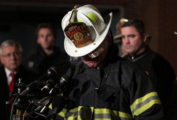 Firefighter dies in blaze   Local News   salemnews com
