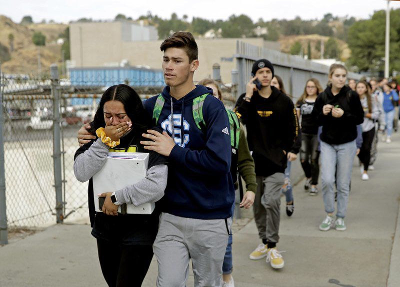 Teen used 'ghost gun' in California high school shooting