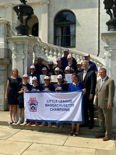 Peabody West state champs honored at state house