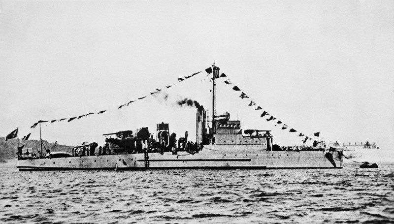 Navy warship sunk by German sub in WWII located