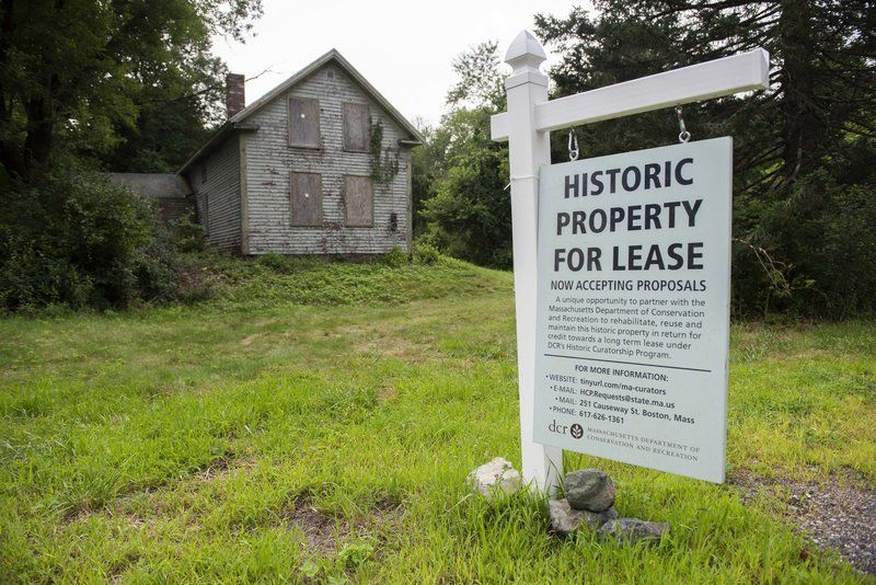 Curatorsought for historicfarmhouse atWillowdale State Forest