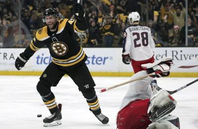 Phil Stacey column: Chance to defeat his former team in Cup Final only helps to fuel Bruins' Backes