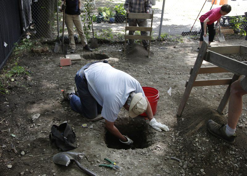 Archaeologists begin 1st excavations of Boston's Chinatown