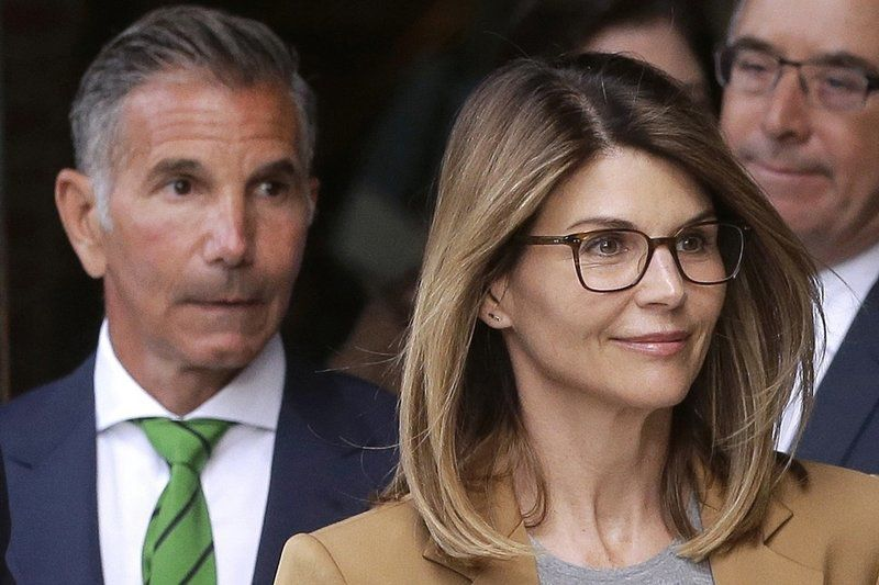 From 'Full House' to 'Big House': Star, husband to be sentenced in college scam