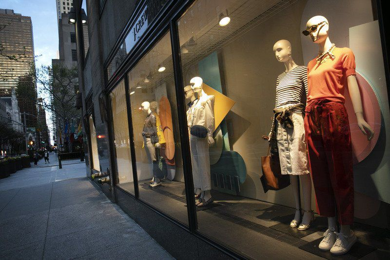 J.Crew files for Chap. 11 as pandemic chokes retail