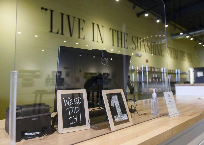 Salem's 3rd retail marijuana shop opens downtown