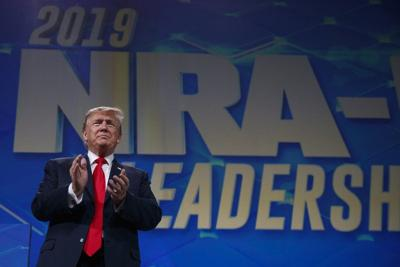 Trump tells NRA he's withdrawing from arms trade treaty